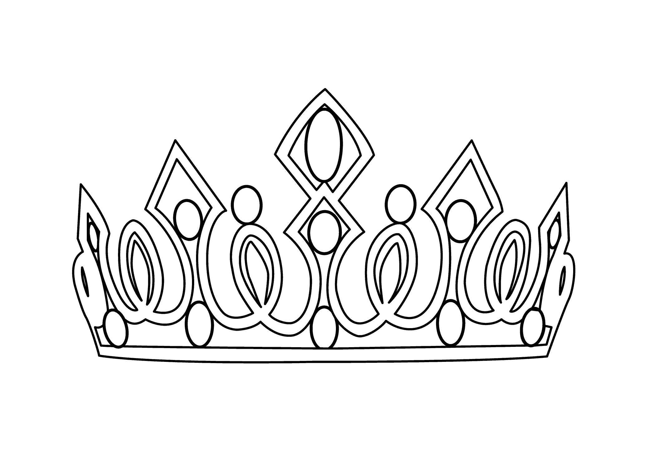 Medieval Crown Drawing at GetDrawings.com | Free for personal use ...
