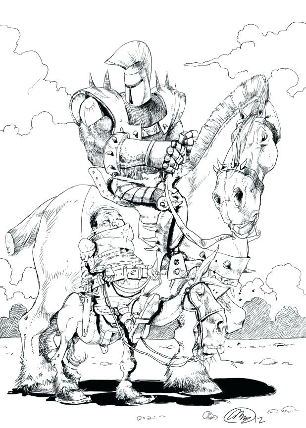 618x865 Medieval Knight Coloring Pages Brave Castle Coloring Pages About