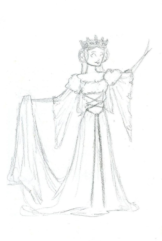 816x1212 Medieval Dress Design By Sahadlich90