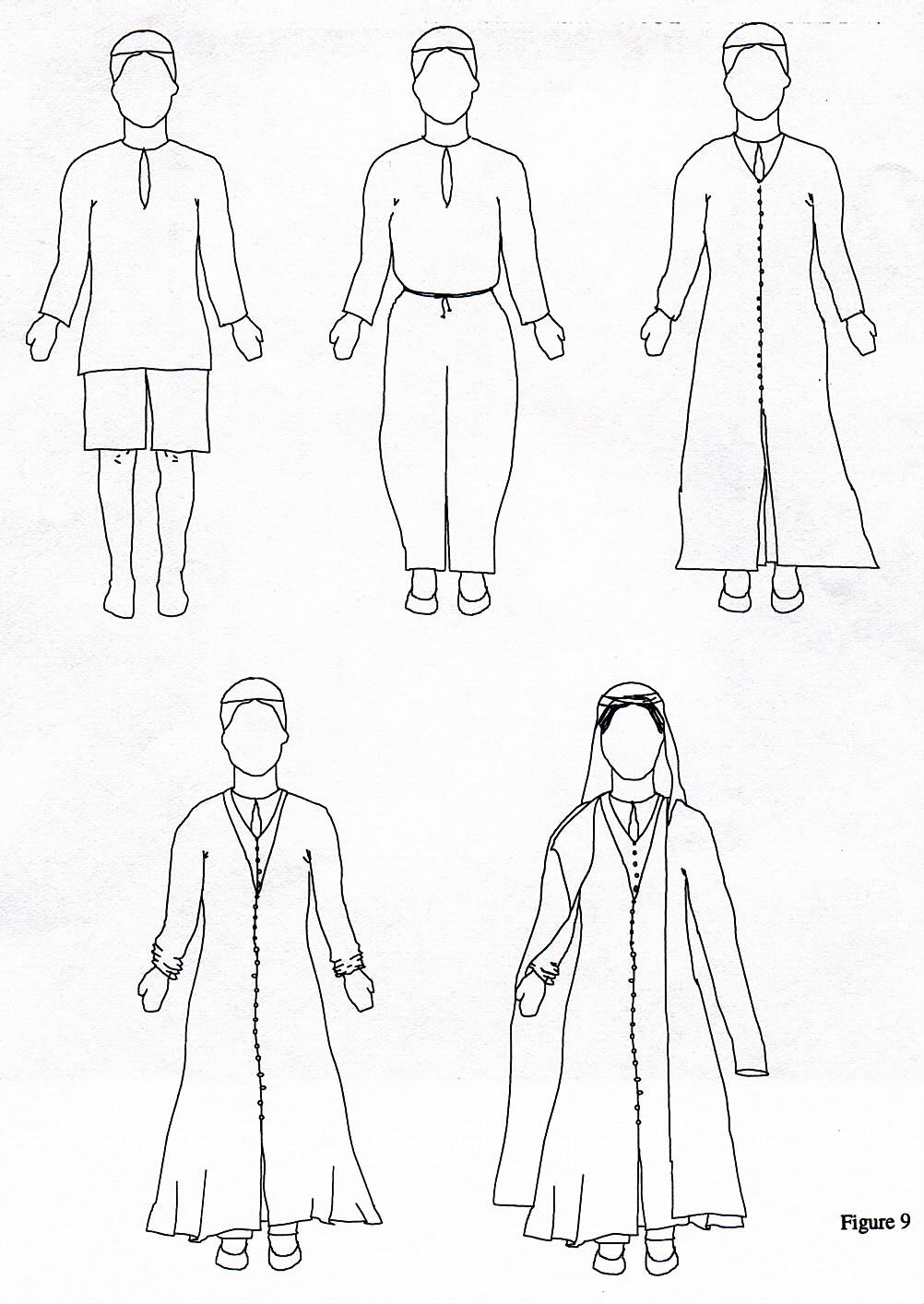 1002x1414 16th Century Persian Women's Clothing