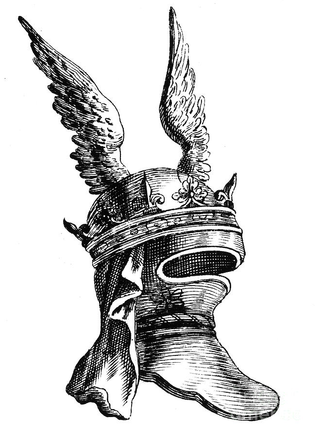 659x900 French Medieval Helmet Photograph By Granger