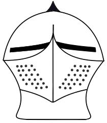 210x240 Knight Helmet Sketch By Matthewamiddleton