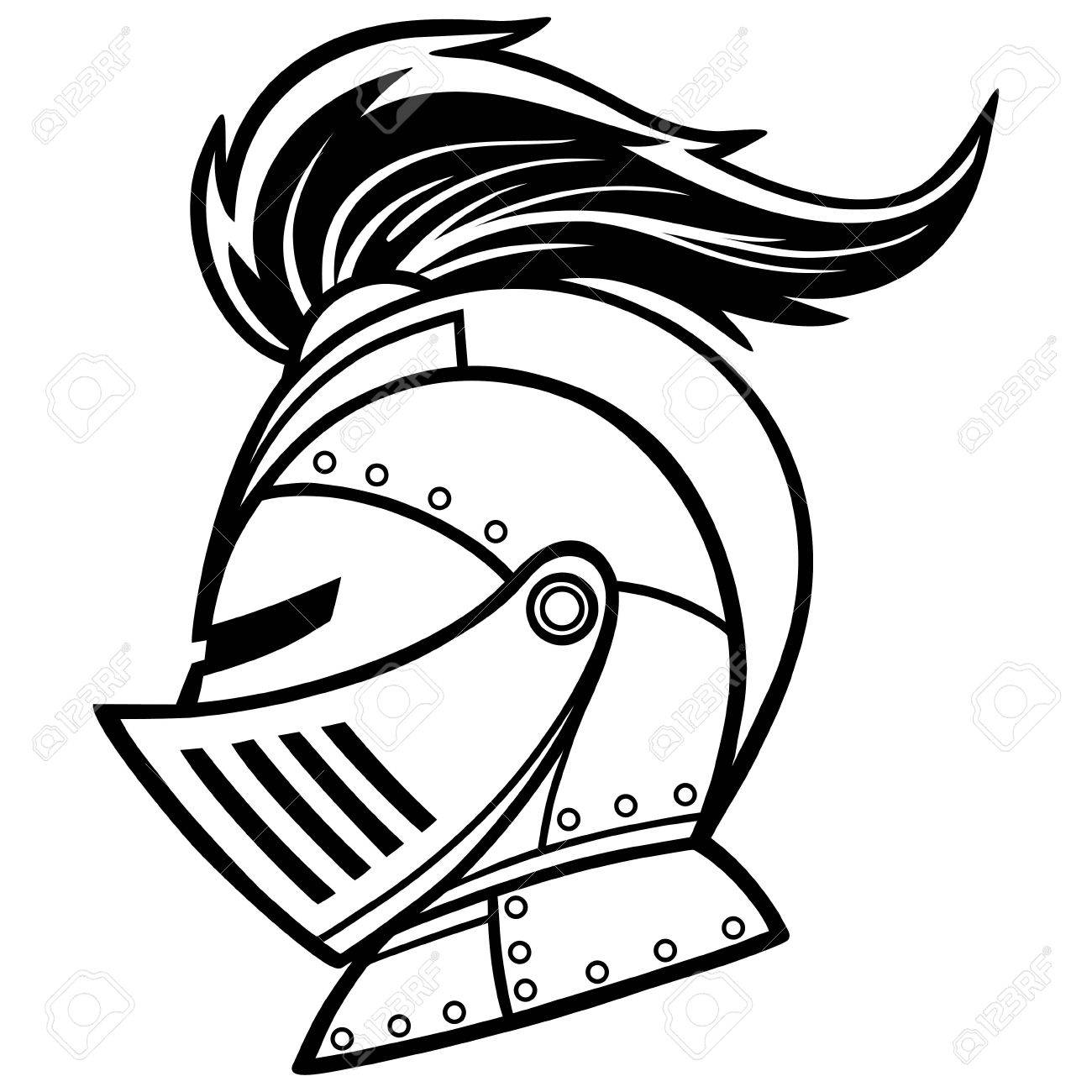1300x1300 Knight Line Art Royalty Free Cliparts, Vectors, And Stock