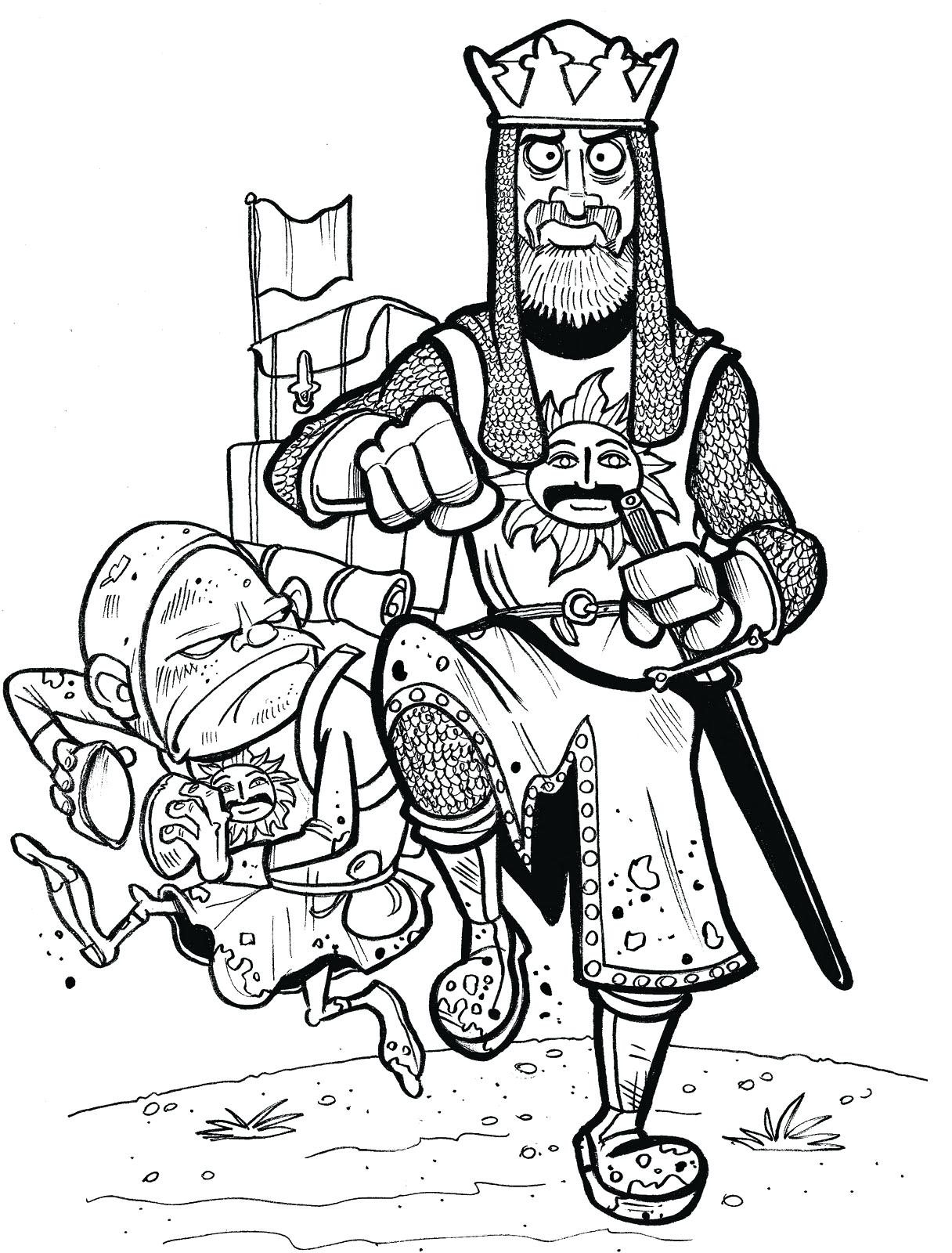 1216x1600 Coloring Medieval Times Coloring Pages