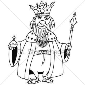 325x325 Cartoon Vector Medieval Fantasy Queen Gl Stock Images