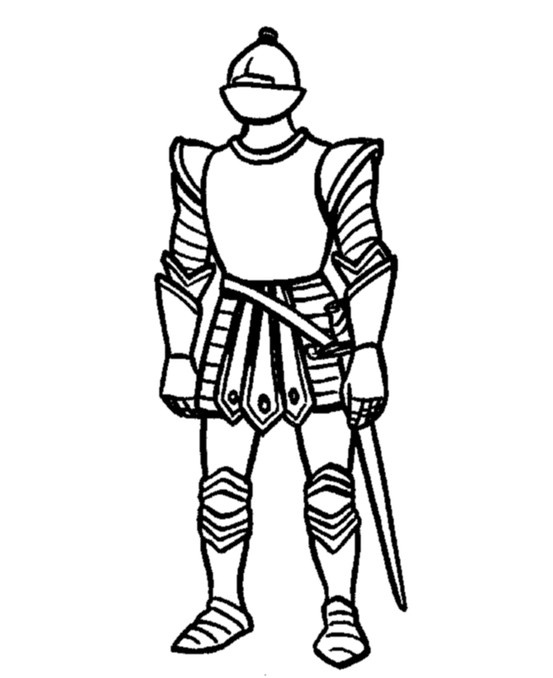 Medieval Knight Drawing at GetDrawings.com | Free for personal use ...