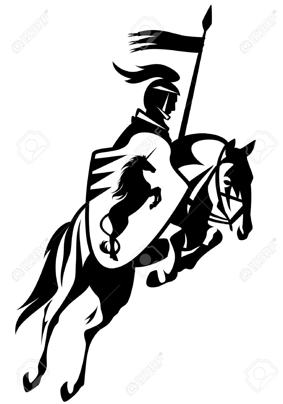 912x1300 Knight Clipart Horse Drawing
