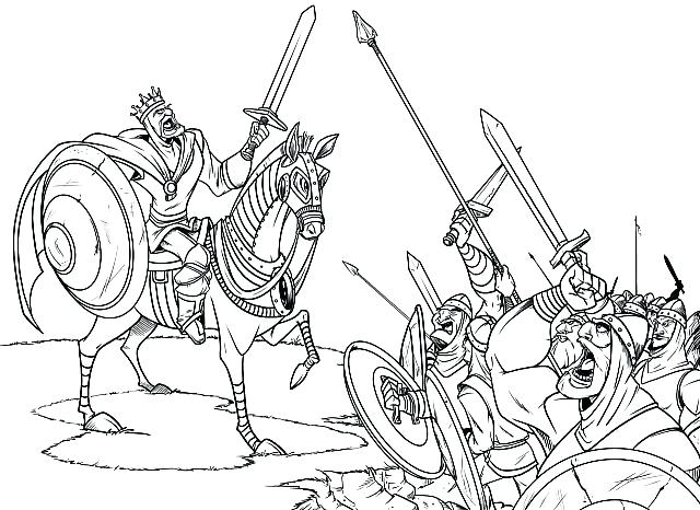 640x466 Medieval Coloring Pages Medieval Coloring Pages Free Printable
