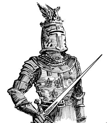 365x419 Medieval Knight Cartoon Animated Medieval Knight Art