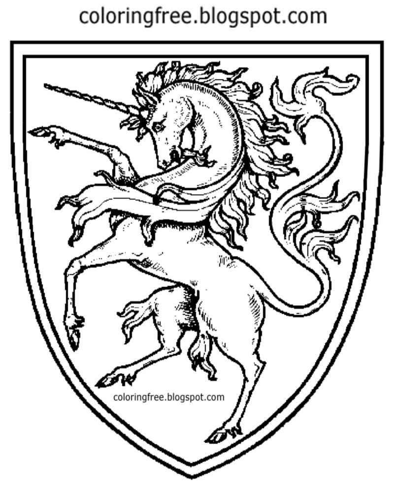 800x1000 Medieval Shield Coloring Pages Medieval Coloring Pages Designs