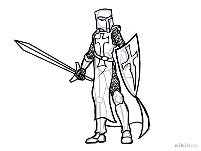 670x503 Draw A Knight Knight And Sketches