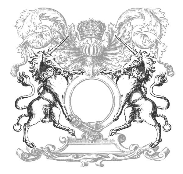 600x572 Free, Vintage Vector, Medieval Heraldry Graphics