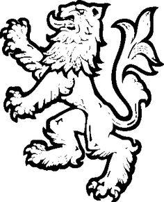 236x291 Medieval Heraldry Clipart