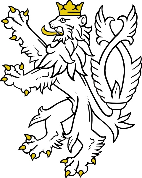 480x599 White Lion Clip Art Free Vector In Open Office Drawing Svg ( Svg