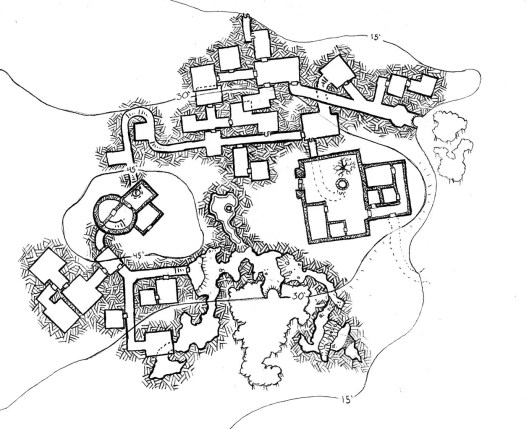 529x429 Hellad Manor Amp Tower Rpg, Fantasy Map And Dungeon Maps