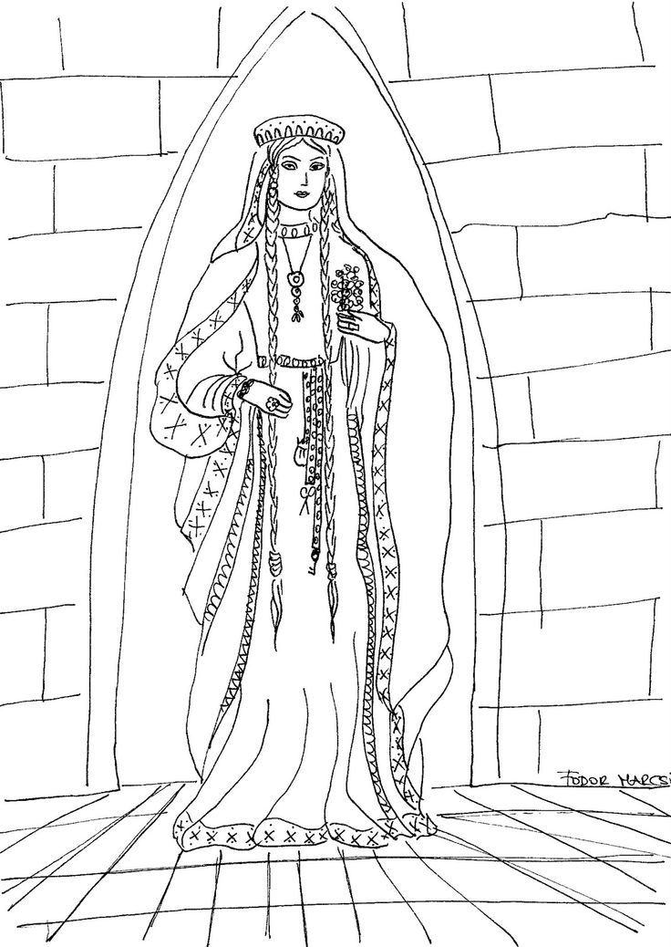 736x1038 Medieval Coloring Pages 132 Best Medievalrenaissance