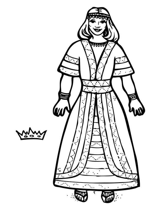 Line Drawing Of Queen Victoria : Medieval queen drawing at getdrawings free for