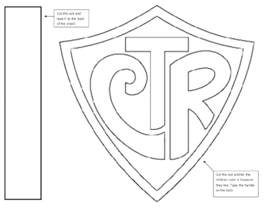 863x671 Ctr Shield Coloring Page 1 Medieval Pages Armor Of Faith Canadian