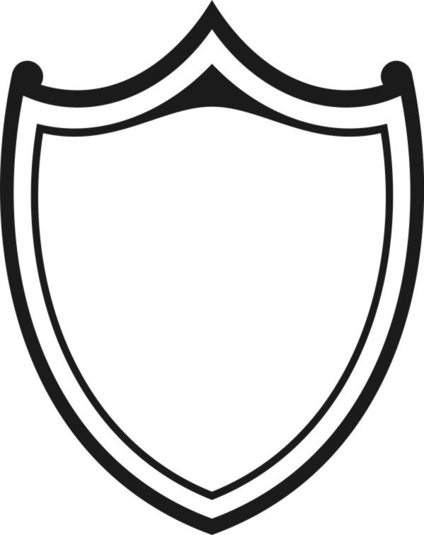 599x756 The Best Shield Drawing Ideas On Shield Template