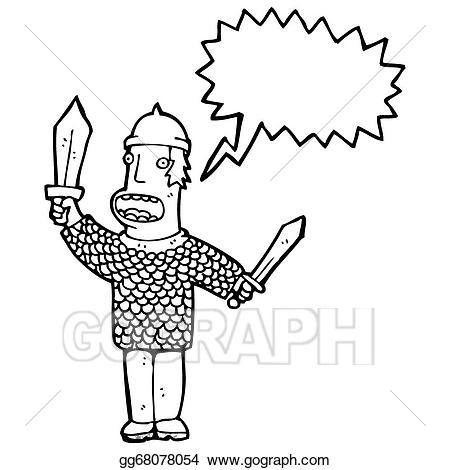 450x470 Medieval Soldier Clipart