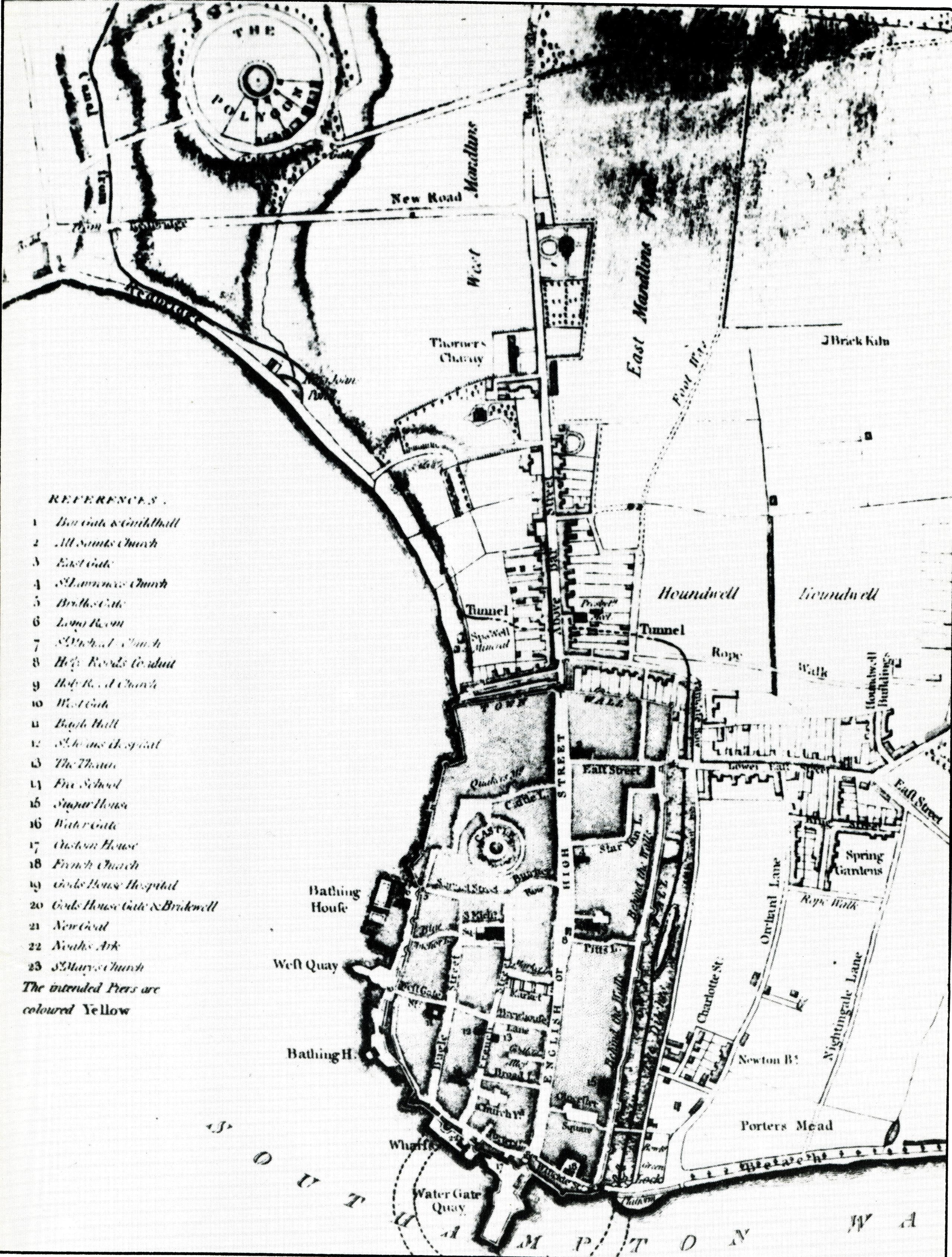 2558x3377 Jane Austen's Particular Places Southampton Austenonly