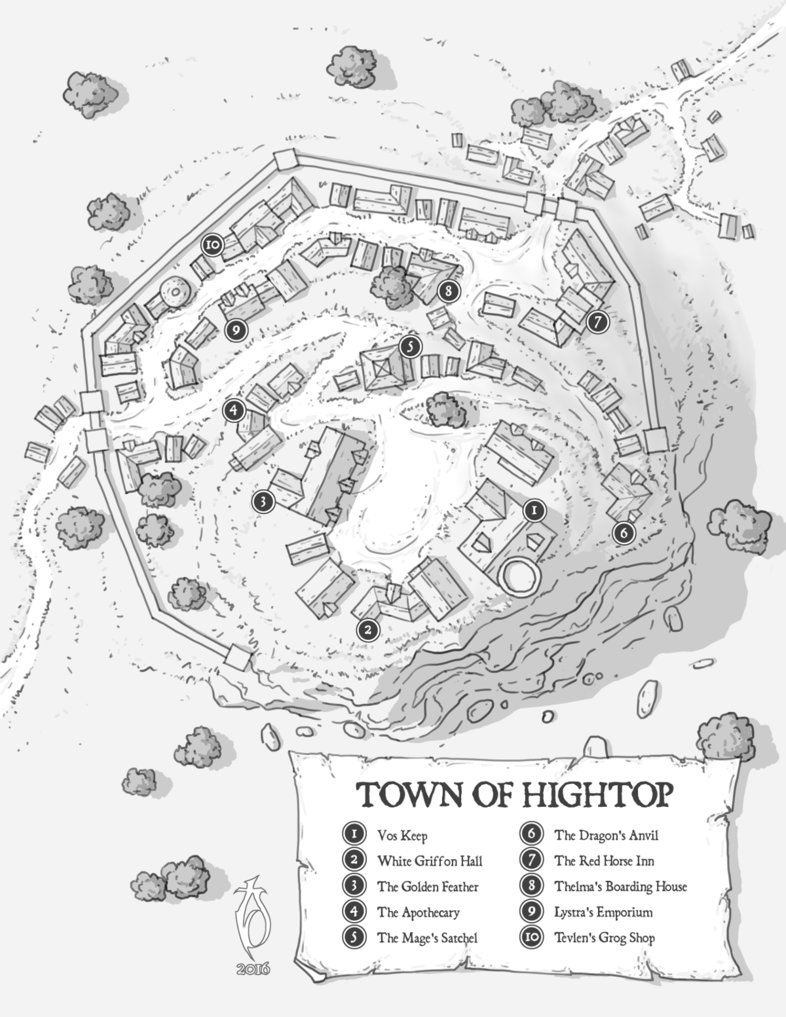 786x1017 Town Of Hightop By Arsheesh