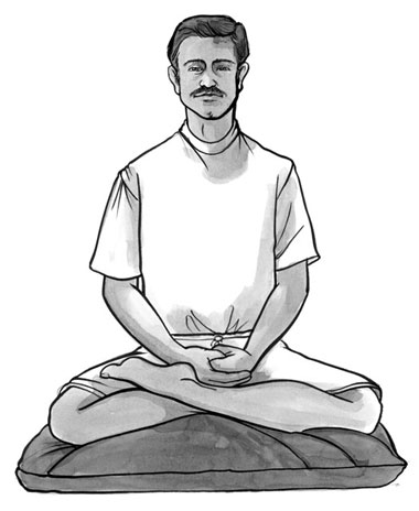 Meditating Drawing