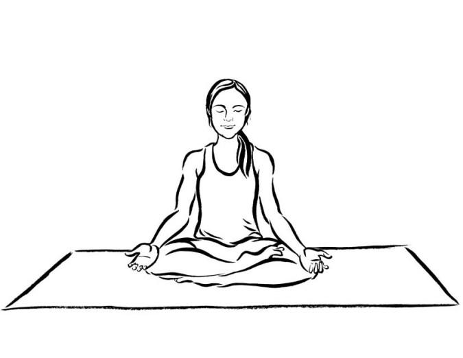 675x522 The Beginner's Guide To Meditation (5 Minutes A Day) Mon Yoga