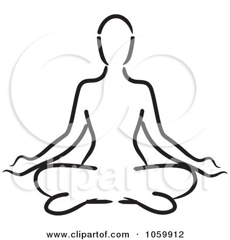 450x470 Man Meditation Clipart