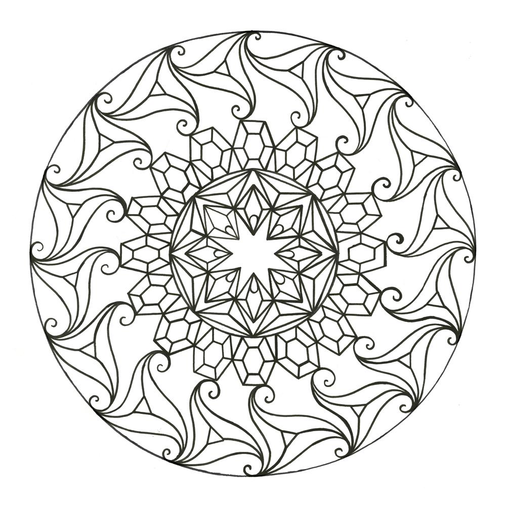 1000x1000 Meditation Drawings Saramazing