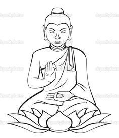 236x274 How To Draw Buddha Easy Step 7 Art Buddha, Easy