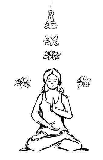 342x527 Drawing Meditation Behind Lies 09
