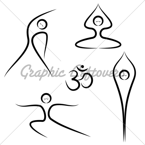 500x500 Laufuhr Test Images Meditation Pose Drawing