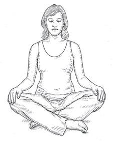 225x281 The Best Posture For Meditation Martha Stewart