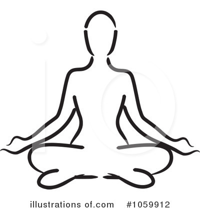 400x420 Drawing Clipart Yoga