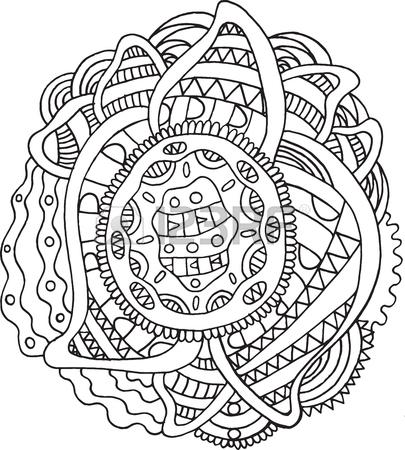 405x450 Doodle Mandala