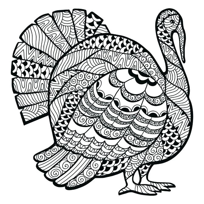 671x671 Coloring Page Of A Turkey Coloring Pages Medium Size Of Coloring
