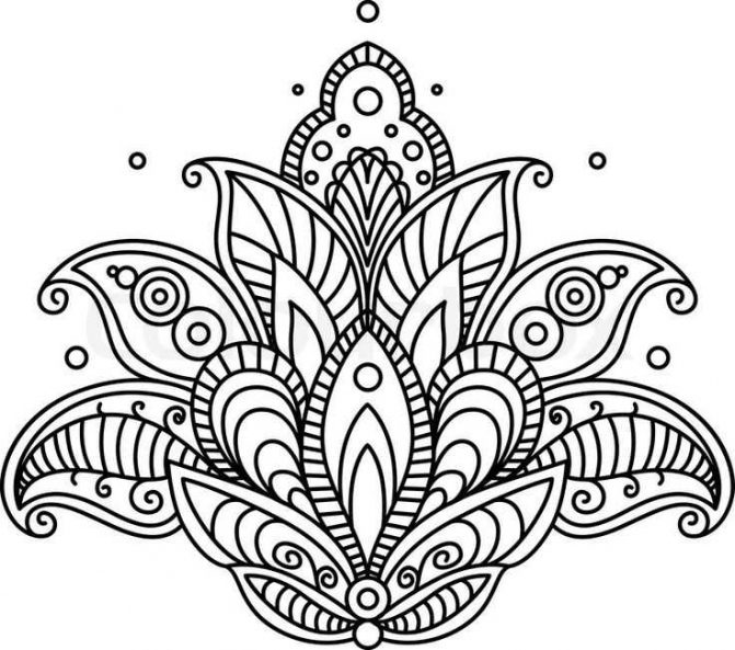 671x593 Coloring Pages Flower Drawing Designs Flowers Drawings Tattoo