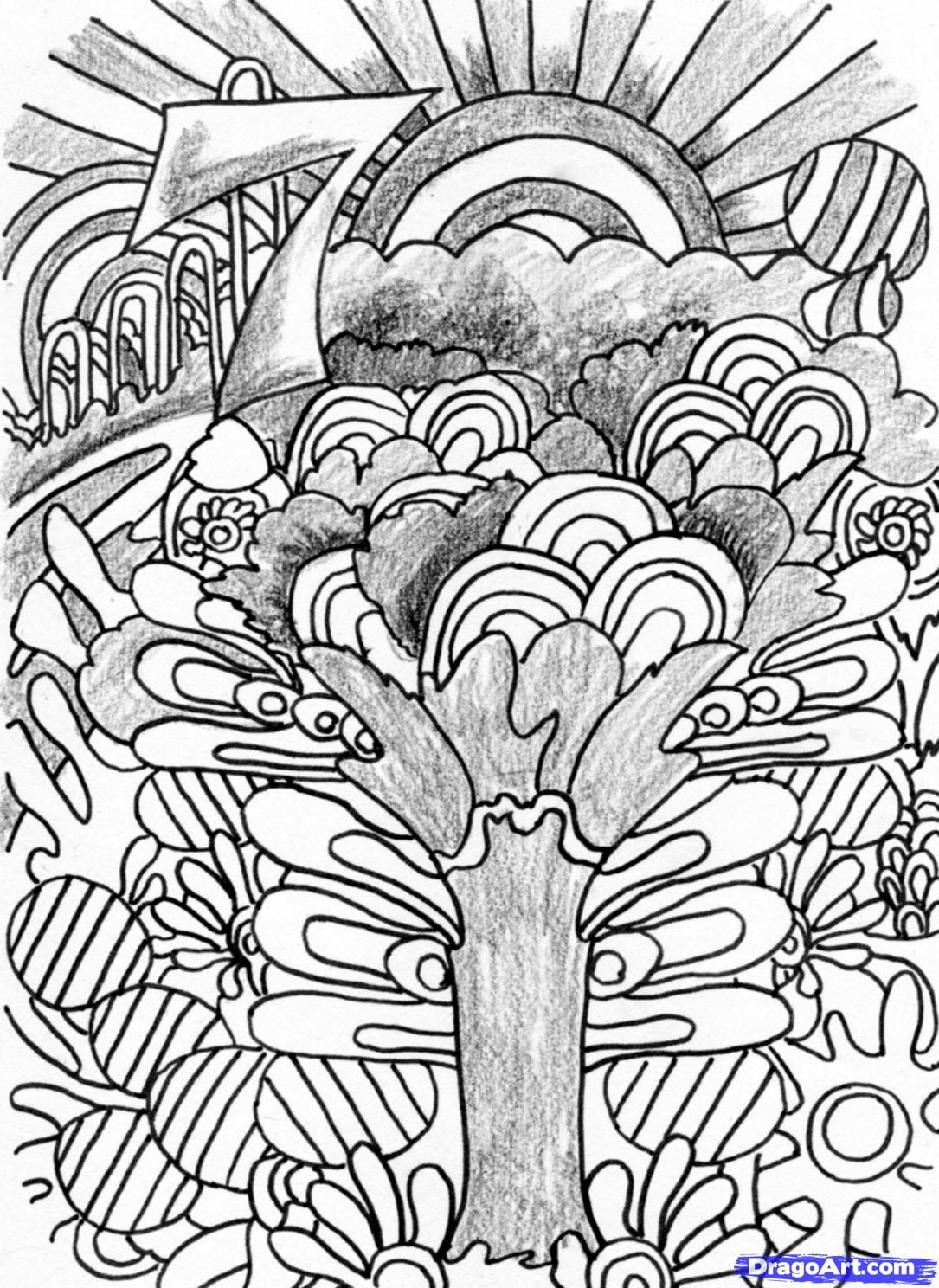 1085x1488 Cool Trippy Drawings Cool Trippy Things To Draw