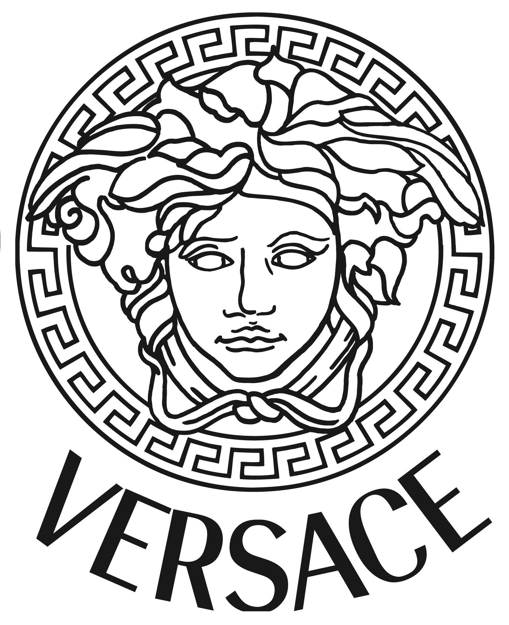 1636x2008 Medusa Clipart Versace