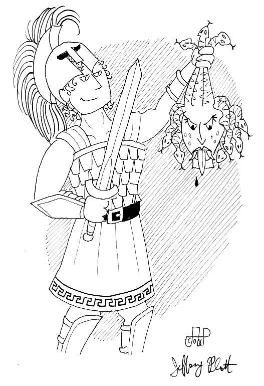 527x770 Perseus With Medusa's Head By Emperornortonii