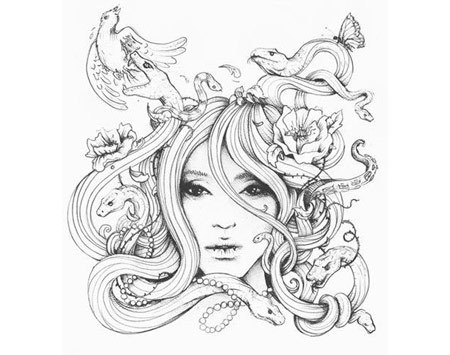 The Best Free Medusa Drawing Images Download From 301 Free