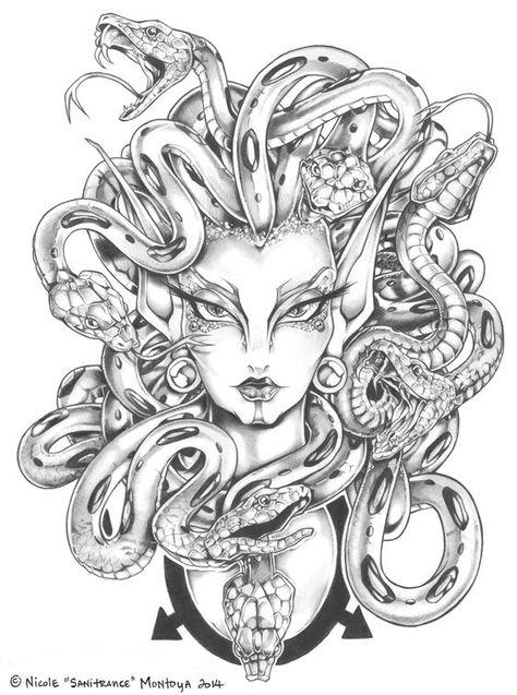 474x637 Head Tattoo Drawing