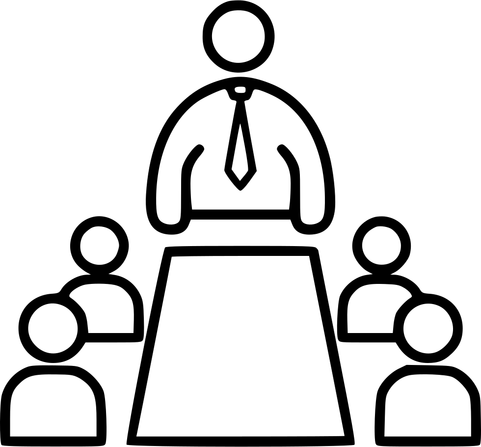 980x910 Meeting Svg Png Icon Free Download ( 506336)