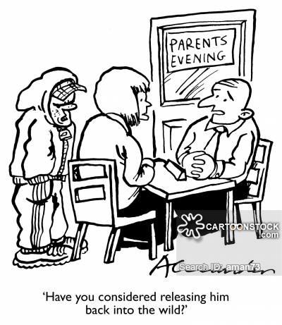 400x461 Teacher Parent Conference Cartoons And Comics