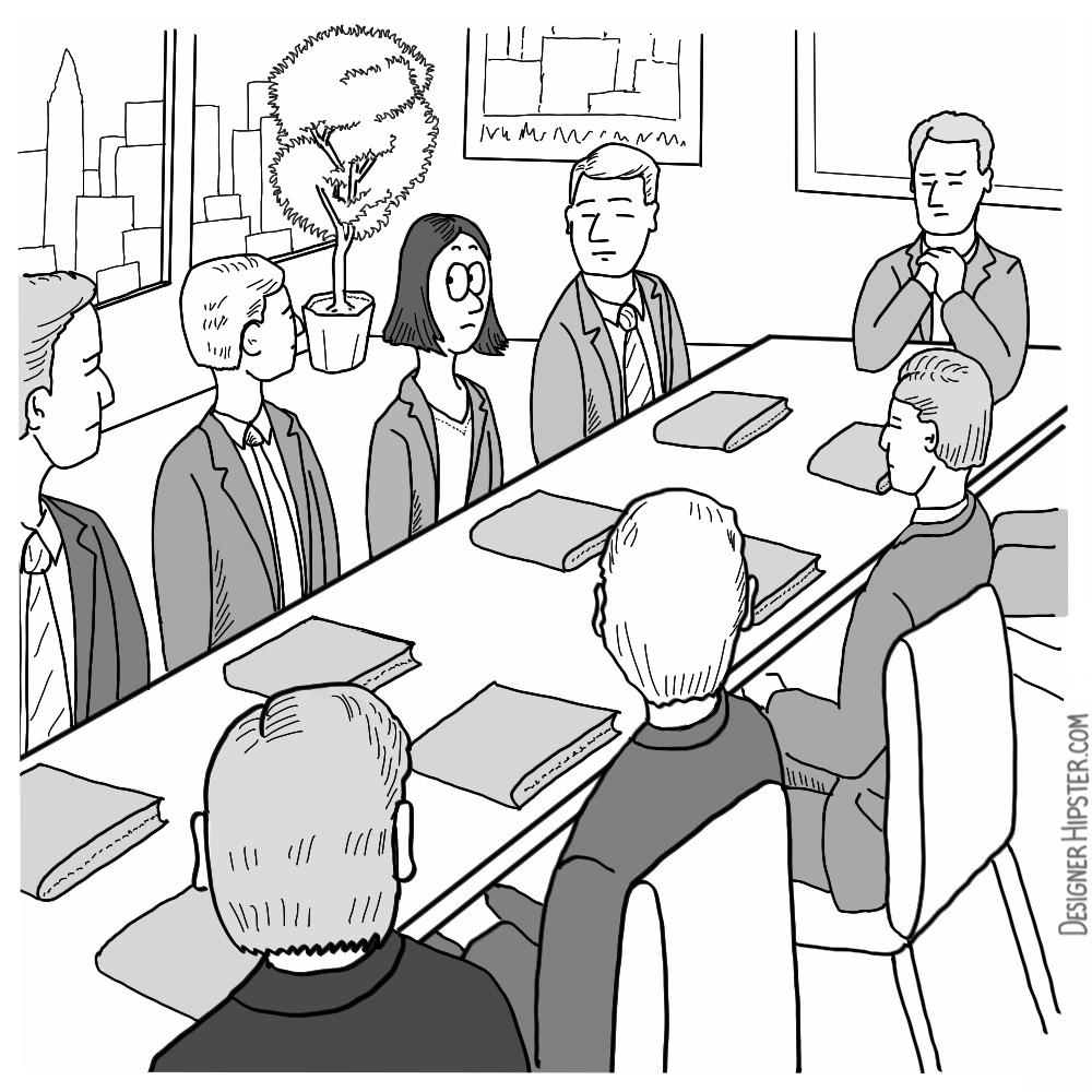 1000x1000 Business Cartoons