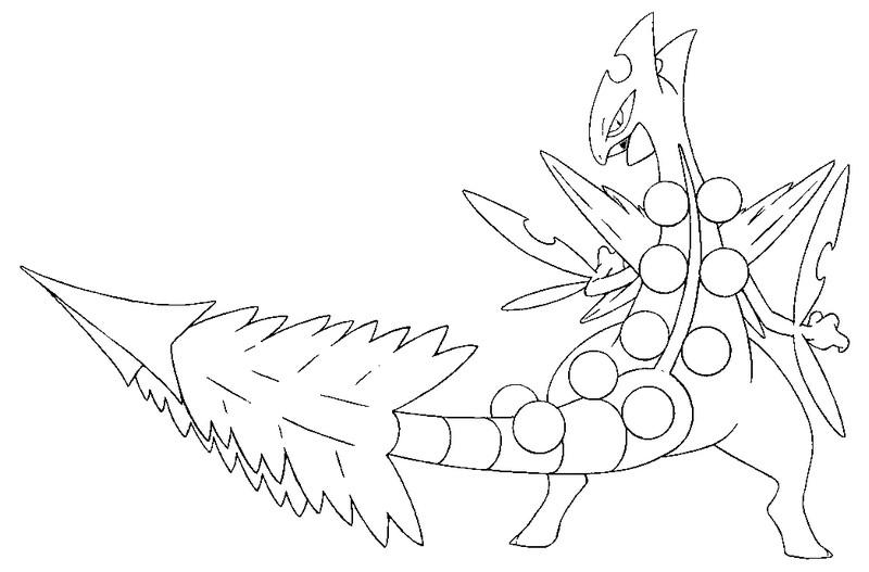 Mega Blaziken Drawing at GetDrawings.com   Free for personal use ...