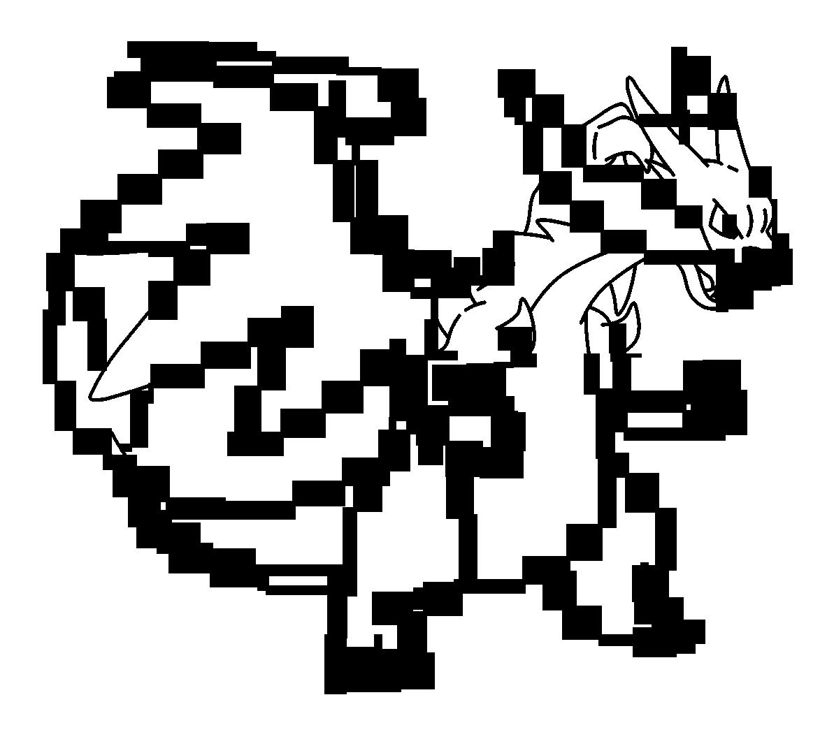 Mega Charizard Drawing at GetDrawings | Free download