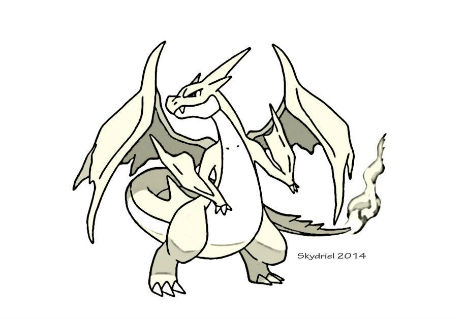 913x628 Mega Charizard Y Sketch By Skydriel