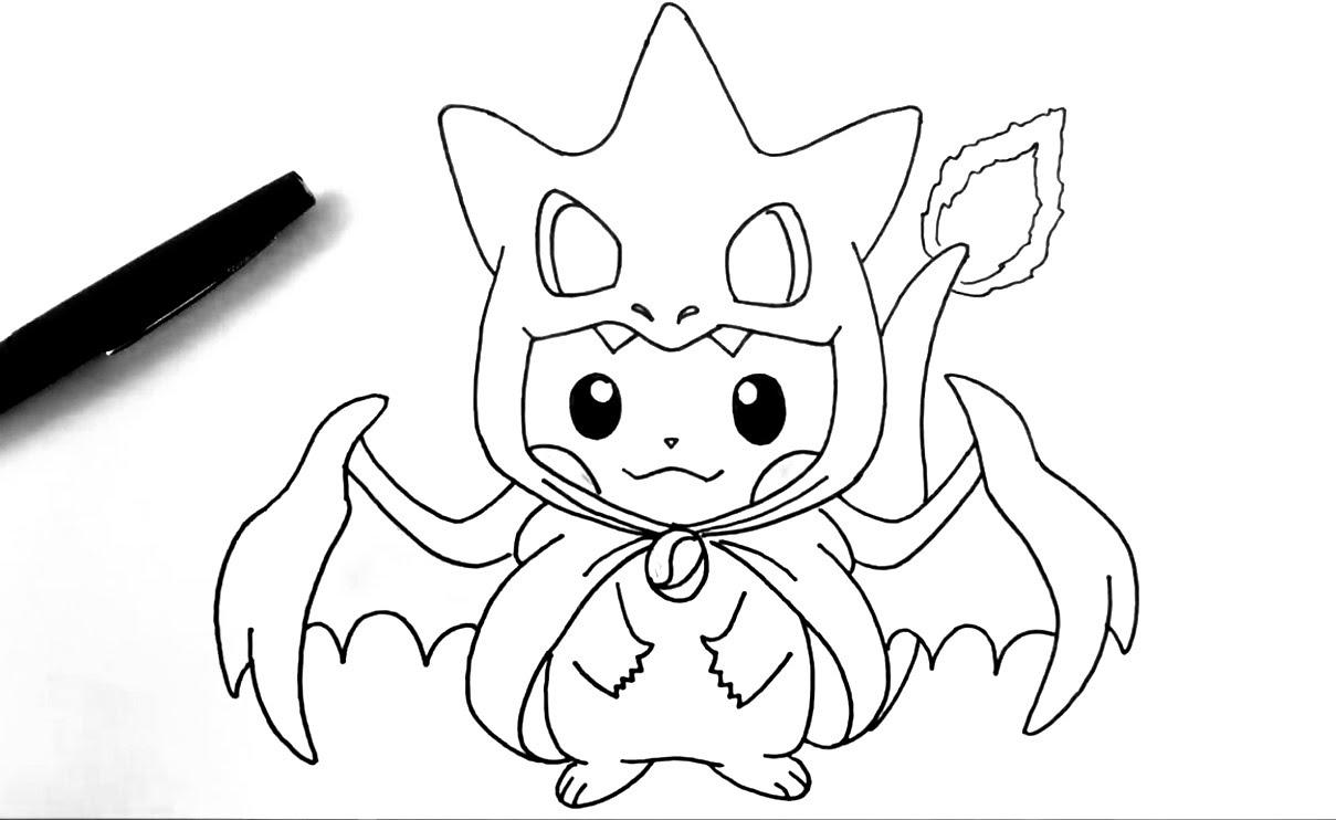1209x742 Pokemon Drawings